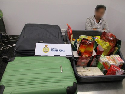 13 kgs of Pseudoephedrine found on Melbourne Passenger